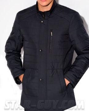 Куртка-мужская-демисезонная-удлиненная-классическая