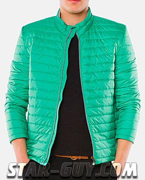 Молодежная мужская куртка короткая 2017 Артикул: 40-103