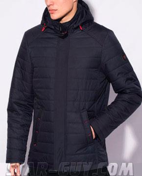 Короткая прямая куртка для мужчин