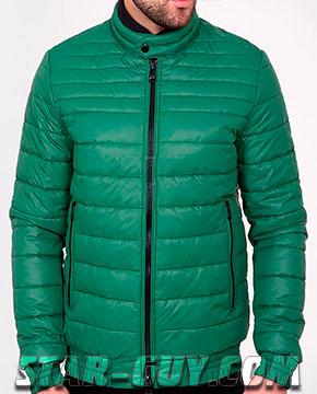 Молодежная стильная куртка весна 2017 Артикул: 17-132