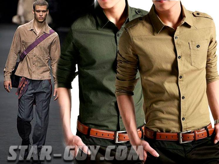 Стильные мужские рубашки в 2017
