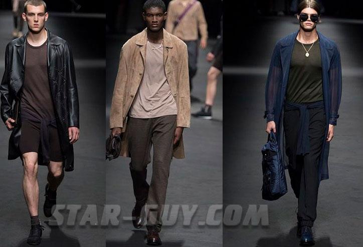 Тенденции мужской моды весна лето 2017