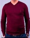 Мужской свитер бордового цвета