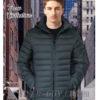 Демисезонная мужская куртка Black Vinyl в розницу