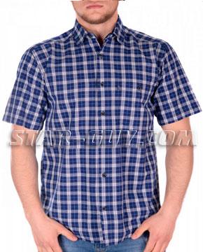 Купить мужскую рубашку в клетку Турция
