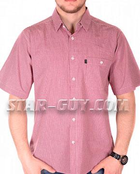 Мужская рубашка Турция в клетку Артикул: 15-14