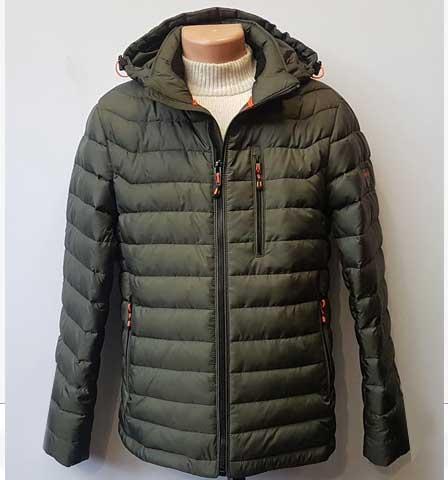 Мужская куртка плотная осень АРТ.9081