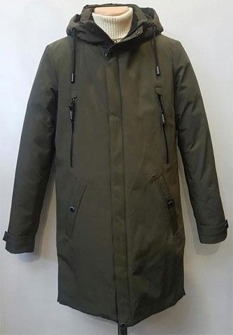 Куртка зимняя мужская парка с капюшоном АРТ. 909-2