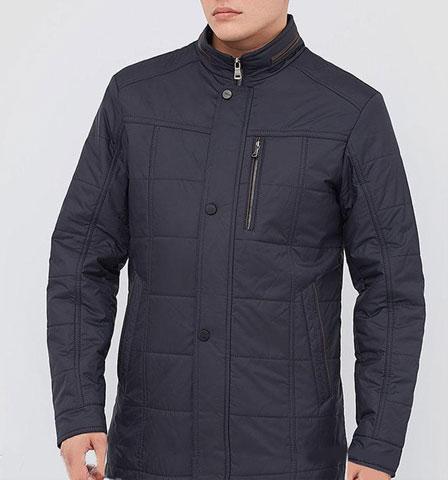 Куртка мужская демисезонная удлиненная классическая 177