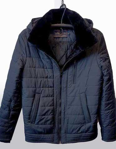 Короткая мужская куртка классика АРТ. 245