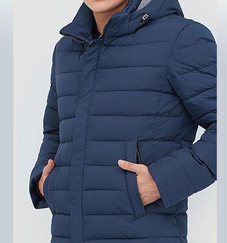 Короткая прямая молодежная куртка зимняя АРТ. 247