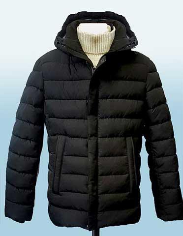 Молодежная короткая зимняя куртка АРТ. 247