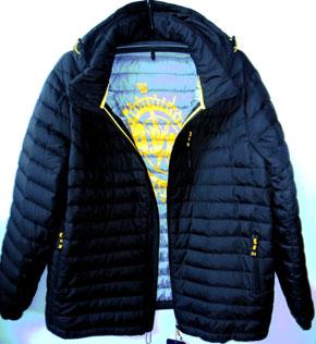 Мужская демисезонная куртка батал